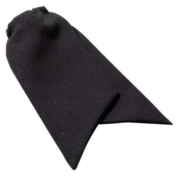 Dames Sjaaltje/Cravat Zwart