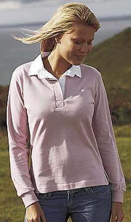 Front Row Dames Rugbyshirt Lange Mouwen FR101