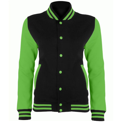 Jet Black/ Electric Green