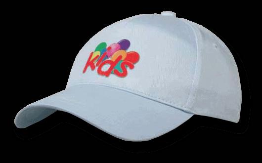 KingCap Basic Promo Kids Cap 4 Panel 34K