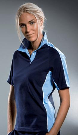 Gamegear Continental Dames Rugbyshirt Short Sleeved KK741