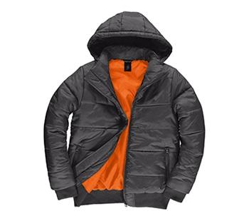Dark Grey/ Neon Orange