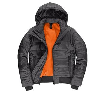 Dark Grey / Neon Orange