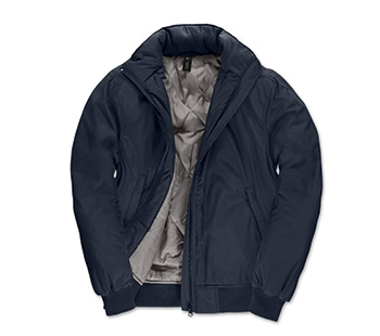 Navy / Warm Grey
