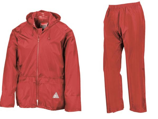 Result R095J Junior Heavyweight Waterproof Jacket And Trouser Set